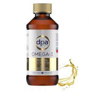 DPA Gold Omega-3 Seal Oil Liquid