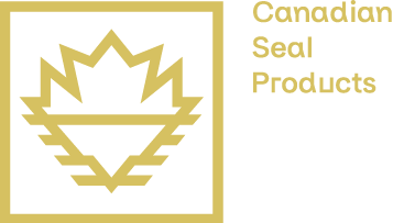 Logo Canadian Seal products - Gold